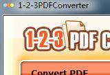 1-2-3PDFConverter 3.0 poster