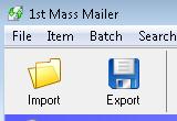 1st Mass Mailer 6.4 poster
