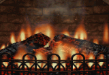 3D Realistic Fireplace Screen Saver 3.9.7 poster