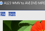 A123 WMV to AVI DVD MPEG MP4 MOV Converter 4.5 poster