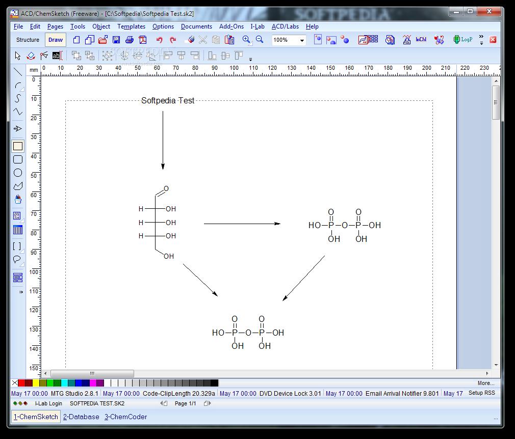 برنامج التركيبات الكيميائية Chem Sketch,بوابة 2013 ACD-ChemSketch_1.png