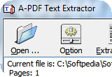A-PDF Text Extractor 1.4.4 poster