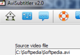 AVI Subtitler 2.02 poster
