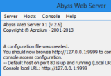 Abyss Web Server X1 2.9.3.5 poster