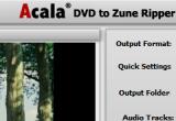 Acala DVD Zune Ripper 4.0.7 poster