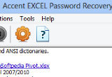 Accent EXCEL Password Recovery 7.70 Build 3192 poster