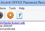 Accent OFFICE Password Recovery 9.21 Build 3266 poster
