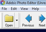 Adebis Photo Editor 1.4 Build 461 poster