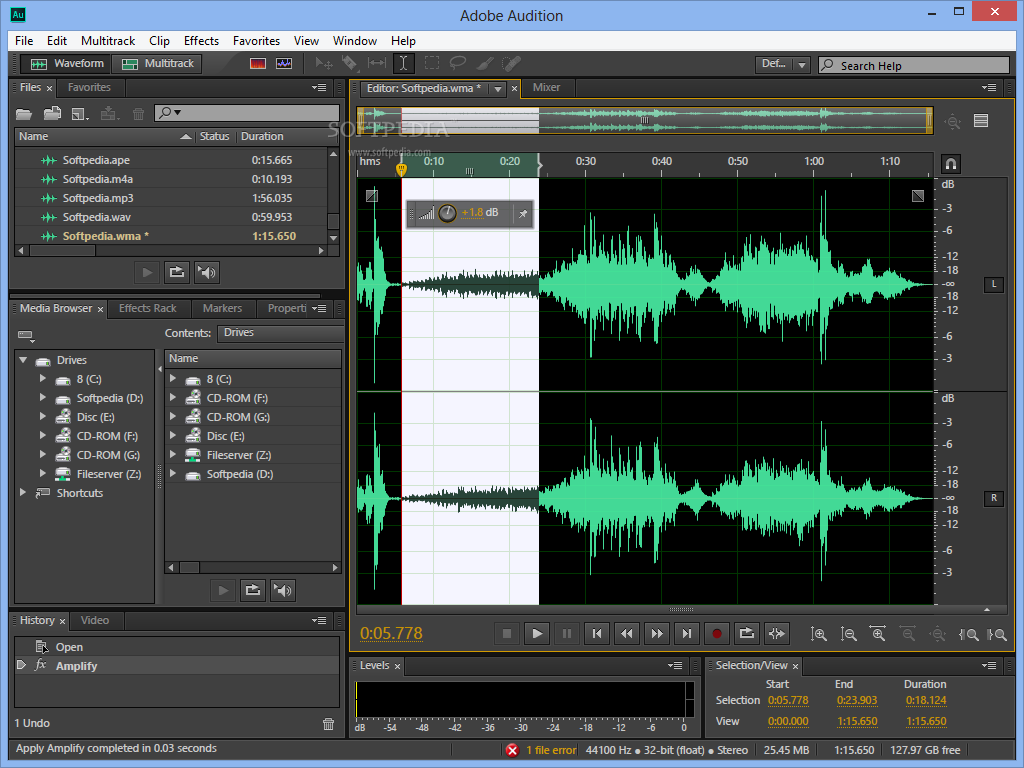 تحميل adobe audition 1.5