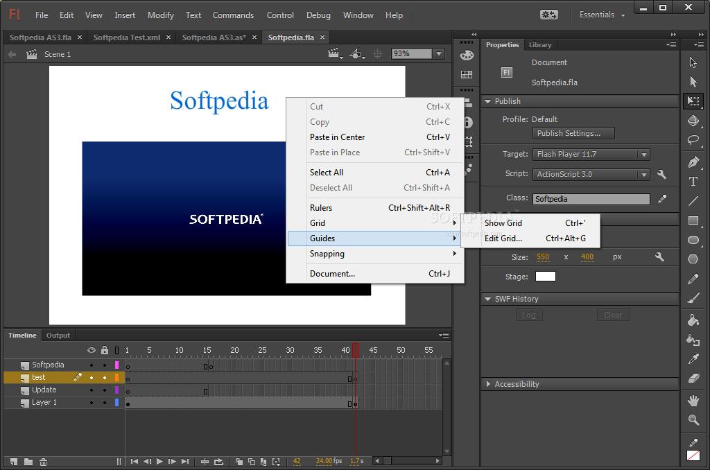 برنامج ادوبي فلاش لعمل عروض فلاشية عالية الكفاءة Adobe