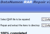 DataNumen RAR Repair (formerly Advanced RAR Repair) 2.1.0.0 poster