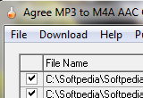 Agree MP3 to M4A AAC Converter 5.0 poster