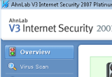 AhnLab V3 Internet Security 2007 Platinum 7.6.2.1 Build 763 poster