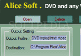 Alice any Video to DVD Converter 5.00 poster