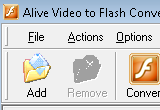 Alive Video to Flash Converter 1.0.8.2 poster