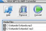 Allok MP3 to AMR Converter 3.0.2 poster