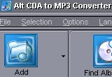 Alt CDA to MP3 Converter 7.3 poster