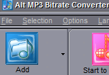 Alt MP3 Bitrate Converter 7.3 poster