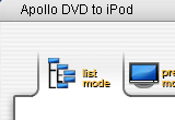 Apollo DVD to iPod 6.1.2 poster