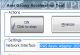 Ares Galaxy Acceleration Tool 4.0.0.0 poster