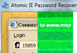 Atomic IE Password Cracker 2.00 poster
