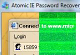 Atomic IE Password Cracker 2.00 poster