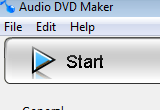 Audio DVD Maker 1.0 poster