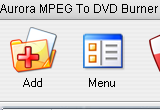 Aurora MPEG To DVD Burner 5.2.49 poster