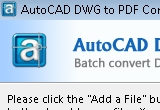 AutoCAD DWG to PDF Converter 6.9.3 poster