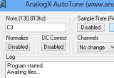 AnalogX AutoTune 2.31 poster