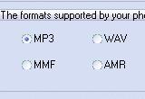 Aya MP3 WAV AMR MMF Mobile Ringtone Converter 1.6 poster