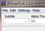 BDSup2Sub 5.1.1 / 5.2.0 Snapshot poster