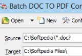 Batch DOC TO PDF Converter 2014.6.819.1780 poster