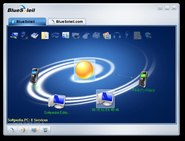 BlueSoleil - программное обеспечение для Windows, которое позволяет
