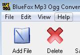 Bluefox MP3 OGG Converter 2.11.09.0527 poster