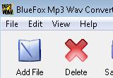 Bluefox MP3 WAV Converter 2.11.09.0527 poster