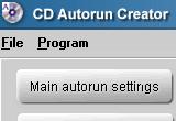 CD Autorun Creator 7.9.3 poster