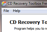 CD Recovery Toolbox Free 2.1.0.0 poster