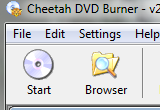 Cheetah DVD Burner 2.57 poster