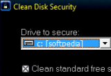 Clean Disk Security 8.05 poster