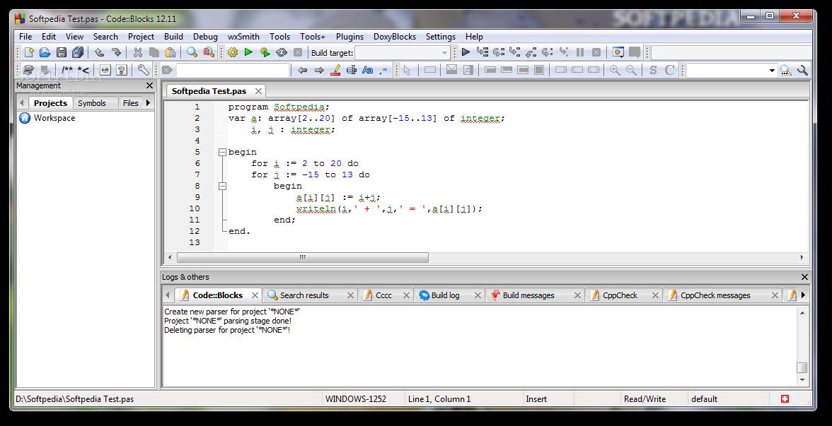 logiciel code blocks 13.12 gratuit