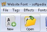 CoffeeCup Website Font 4.1 Build 20081217 poster