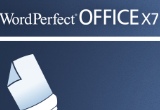 Corel WordPerfect Office X7 poster