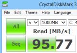 CrystalDiskMark 3.0.3b poster