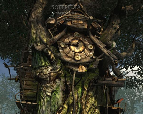 Screensavers clock clock 3d watch download clock 3d screen this