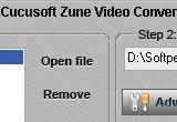 Cucusoft Zune Video Converter 7.08 poster