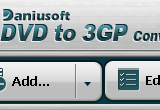 Daniusoft DVD to 3GP Converter 2.1.0.13 poster