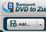 Daniusoft DVD to Zune Converter 2.1.0.15 poster