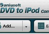 Daniusoft DVD to iPod Converter 2.1.0.14 poster