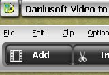 Daniusoft Video to Creative Zen Converter 2.1.0.35 poster